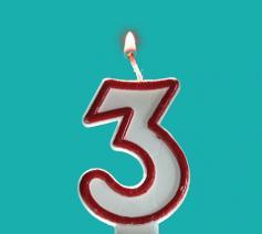 Verjaardag Kerknet 3 jaar