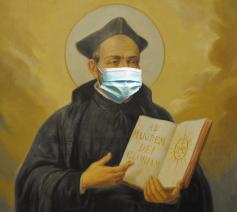 Alle gekheid op een stokje, 4 ignatiaanse tips: blijf rustig, luister naar de artsen, bid en blijf genieten. © Nikolaas Sintobin