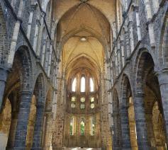 De ruïne van Villers-la-Ville. 'Ook al is er veel kapot, de grootheid en schoonheid van de plek is overweldigend.'  © Kolet Janssen