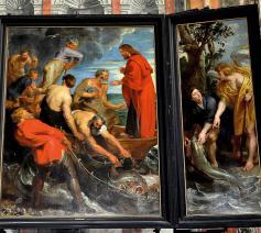 De wonderbare visvangst van Peter Paul Rubens © Wikipedia/Paul Hermans