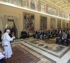 Pauselijke steun voor het werk van de voedselbanken © Vatican Media