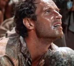 Charlton Heston in 'Ben Hur'. © rr
