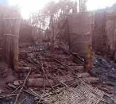 Bij religieus geweld in Orissa in India vielen tientallen doden en werden duizenden christelijke gezinnen weggejaagd. © CBCI