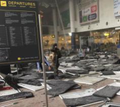 Na de aanslag van 22 maart in Zaventem © Facebook