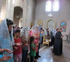 Armeense gelovigen © Kerk in Nood