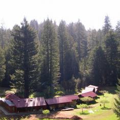 Redwoods Monastery in Californië, dochterabdij van O.-L.-V. van Nazareth in Brecht.