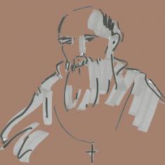 Benedictus van Nursia © Koen Van Loocke