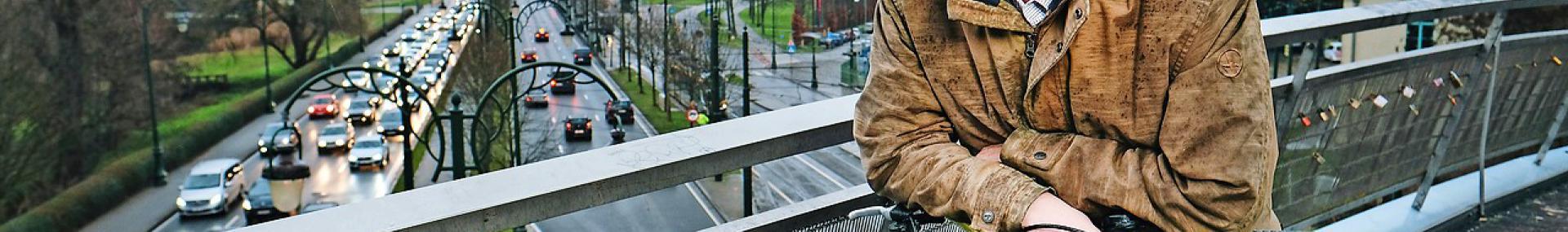 """Paul Delva: """"Na 1958 is Brussel een stad op maat van de auto geworden."""" © © Bart Dewaele"""