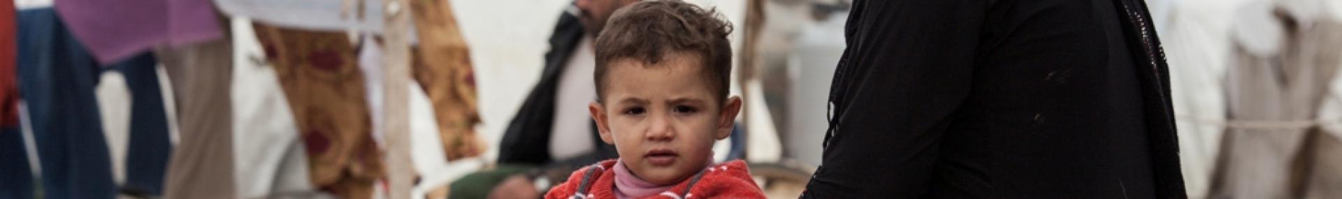 Syrische vluchtelingen © Caritas Zwitserland