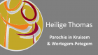 Heilige Thomas - Parochie in Kruisem - Wortegem-Petegem