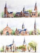 Kerk Stekene en Sint-Gillis-Waas