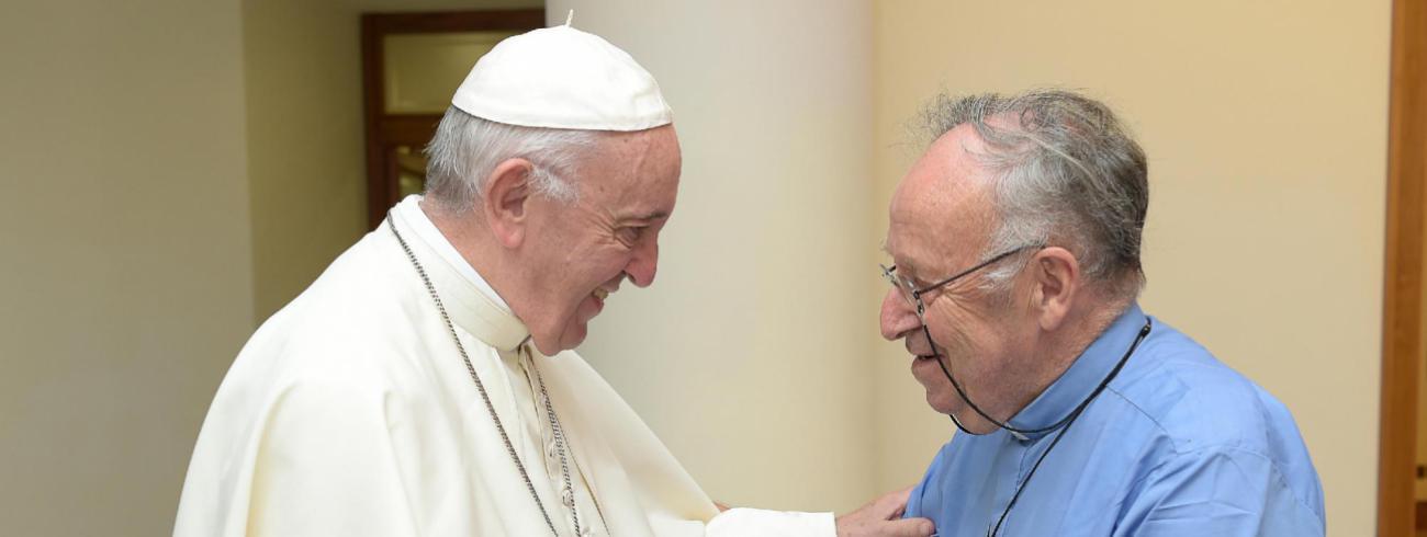 Ontmoeting Guido Eeckhaoudt 17 september 2018 © @Vaticaan - Servizio Fotografico - Ordini