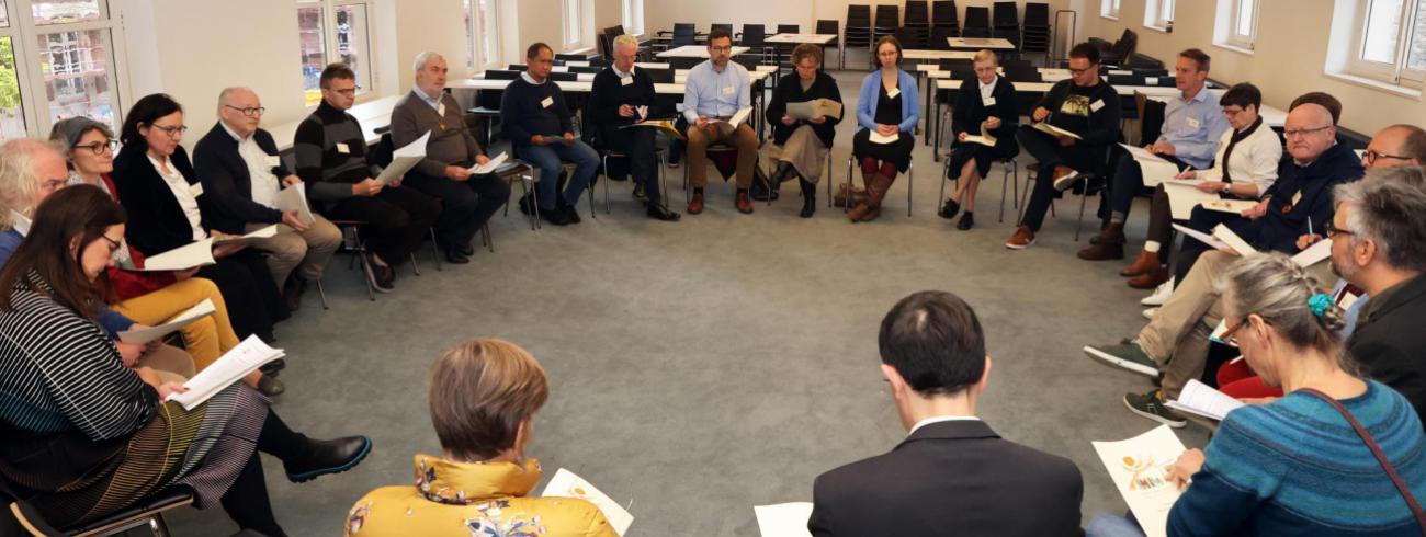 Start diocesane werkgroep synodaal proces - Gent, 17 oktober 2021 © Bisdom Gent, foto: Kristof Ghyselinck