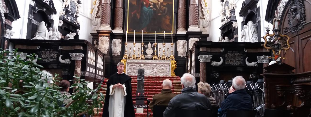 Evensong in de Sint-Pauluskerk te Antwerpen © Armand Storck