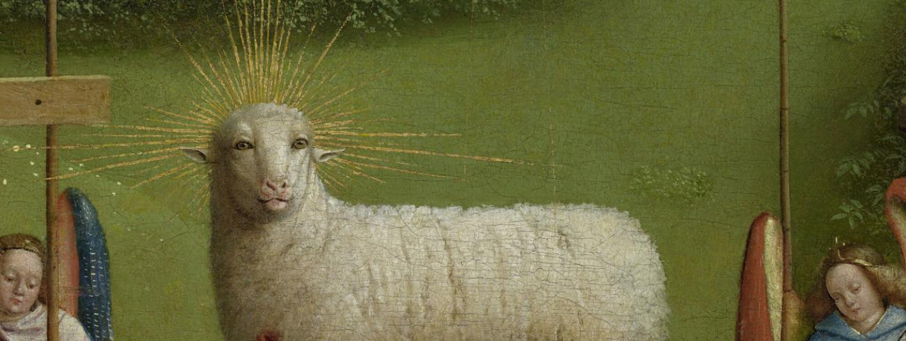 Zie het Lam Gods © trouxw.nl