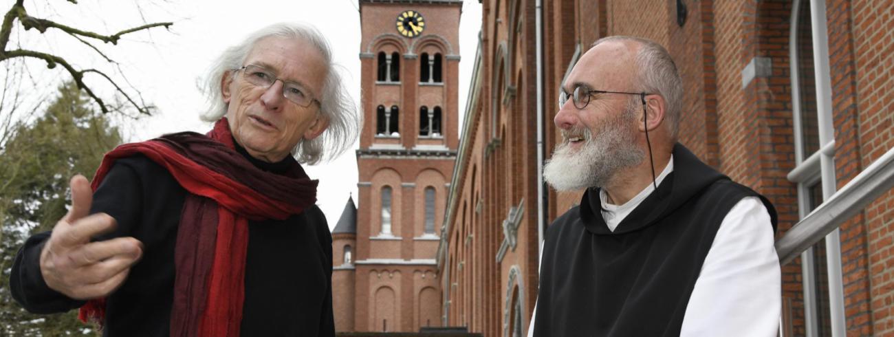 Patrick Lateur en Guerric Aerden. © Maîtrise