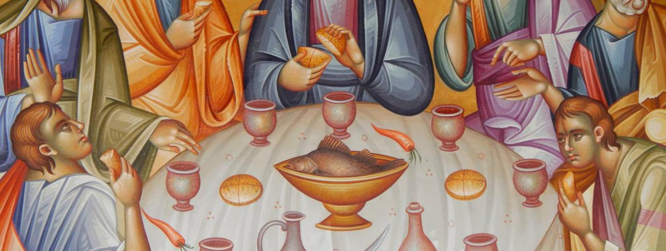 De Heer wil met ons maaltijd houden © Pieter Stevens