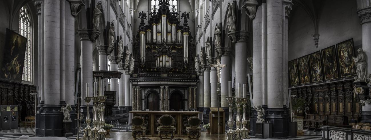 Sit-Pauluskerk Antwerpen © Denis Wuyts