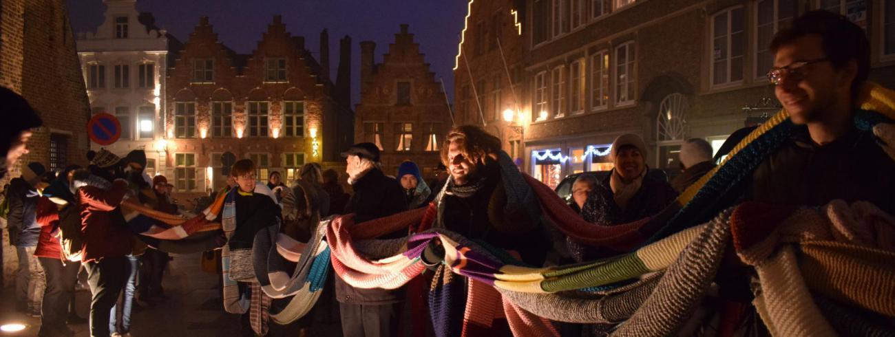 sjaal voor de kathedraal © Inge Cordemans