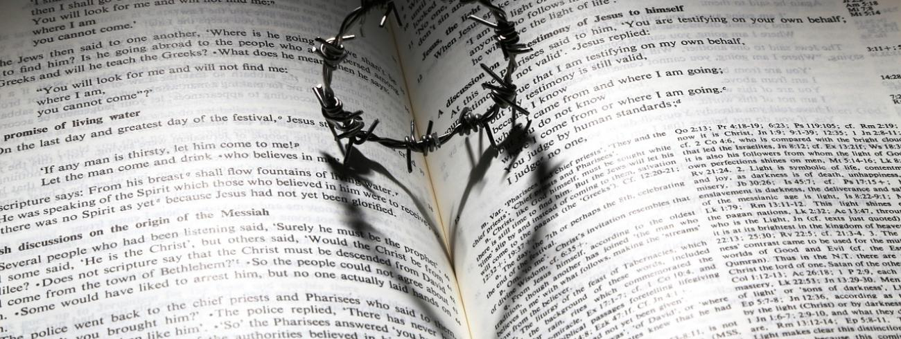 Het evangelie kan ons leren elkaar steeds te vergeven. © James Chan