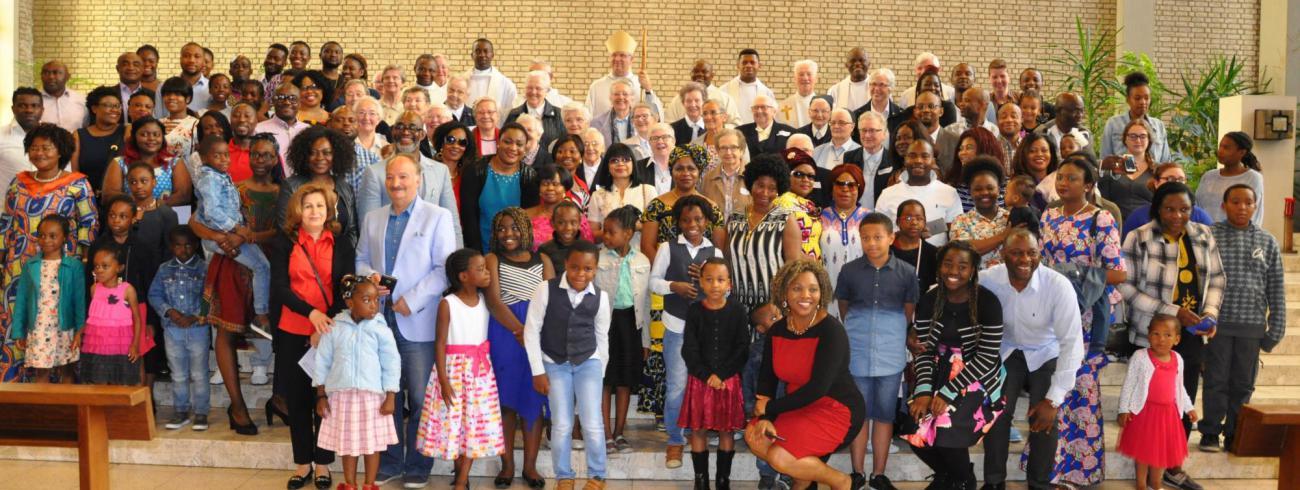 Feest met de wereldkerk © Callistus Okponenwu