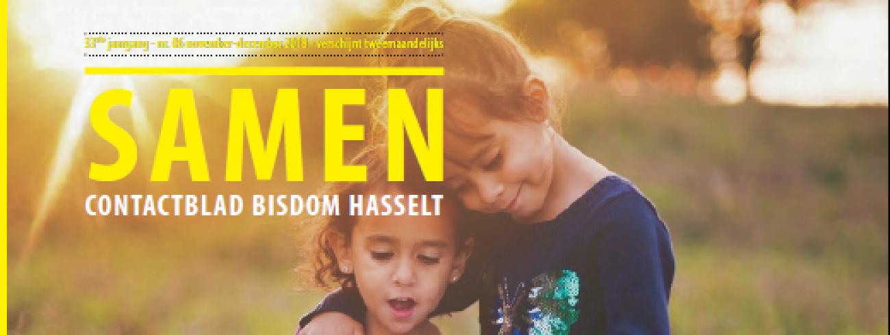 Cover Samen november-december 2018 © bisdom Hasselt