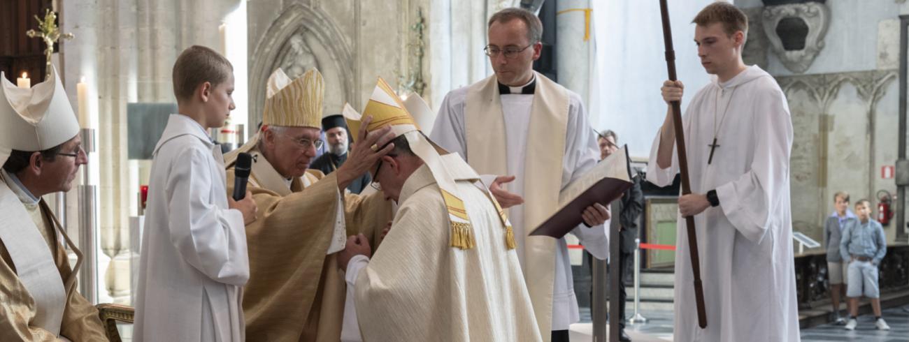 Bisschopswijding Monseigneur Koen Vanhoutte © Luc Hilderson