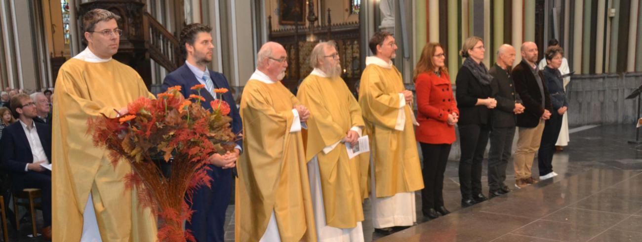 Voorstelling nieuwe parochieploeg in Eeklo - Kaprijke - St.-Laureins © Lud Dewaele