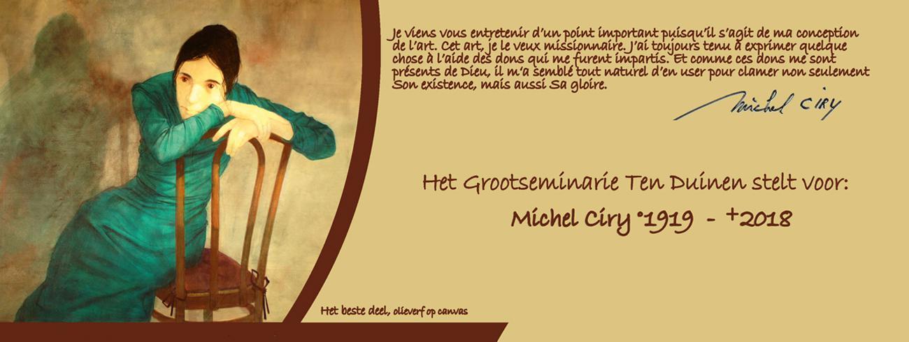 Michel Ciry, Het beste deel, olieverf op canvas. © Michel Ciry, Het beste deel, oliverf op canvas.