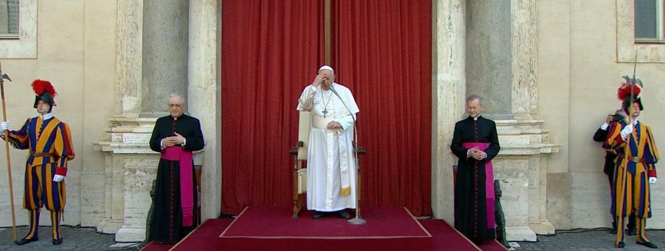 Paus Franciscus tijdens de algemene audiëntie van woensdag 30 juni 2021 © VaticanMedia