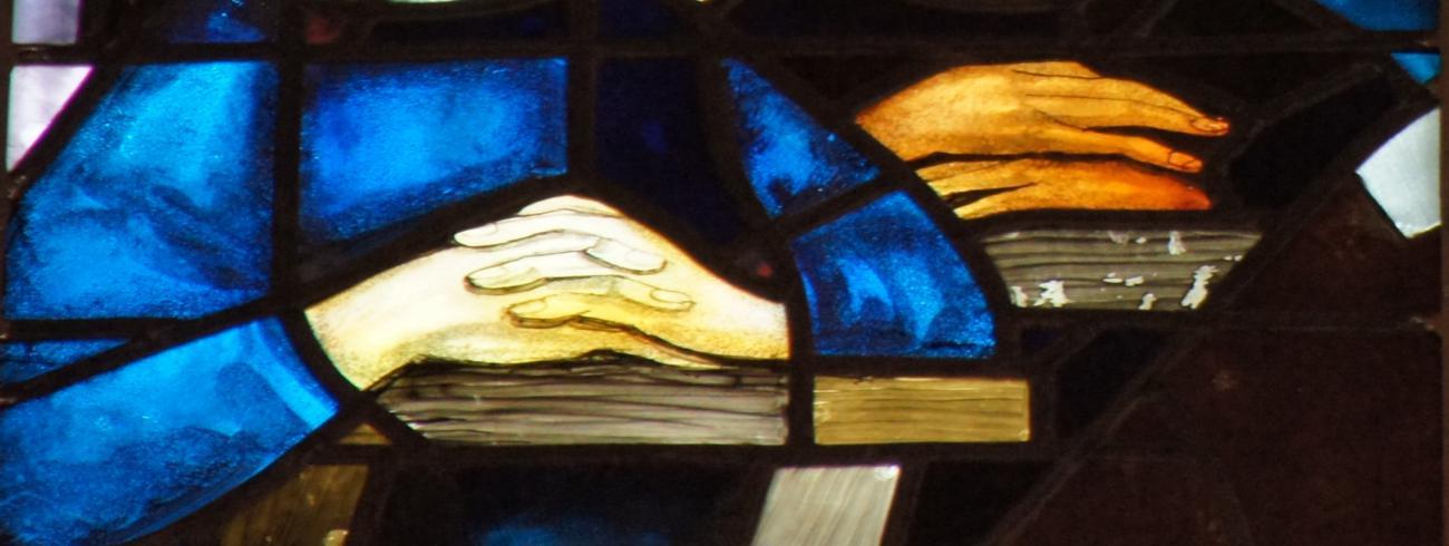 Eerste communie uit glasramen Sint Martinus Retie © Frank De Ceulaer