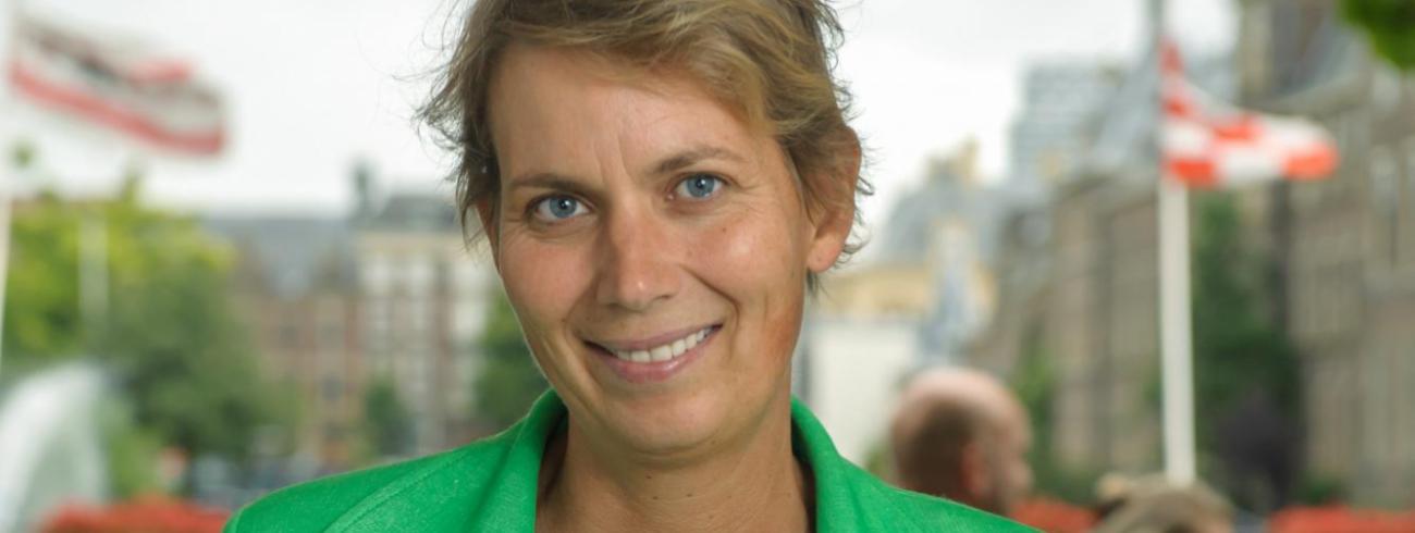 """""""Het valt me op dat er nog steeds een discussie gevoerd wordt over de bevolkingspolitiek en  over de vraag of Nederland te vol is"""", merkt Monique Kremer op. © Saskia Nelissen"""