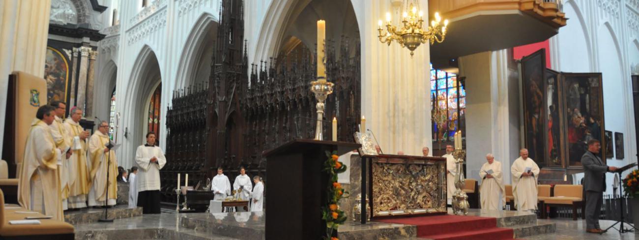 Feestelijke eucharistie in de Onze-Lieve-Vrouwekathedraal  © Bisdom Antwerpen