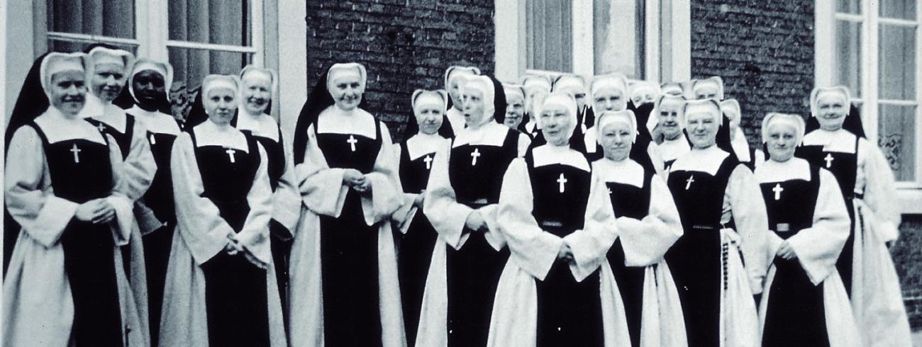 bezoek aan Brugge 1967 © Archief zusters bernardinnen