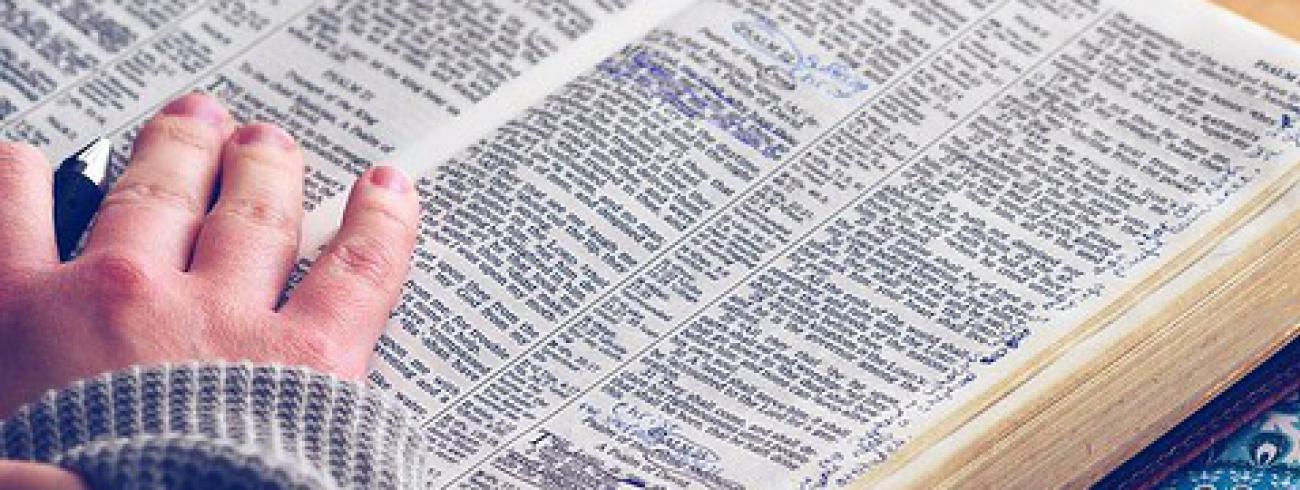 bijbel lezen © Flickr.com