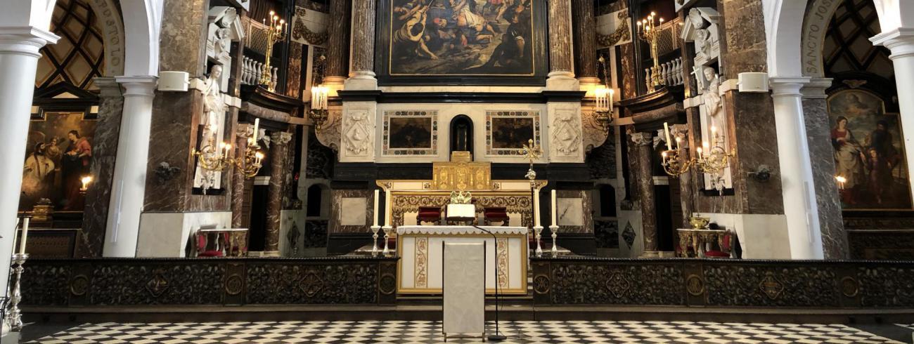 Interieur van de Sint-Carolus Borromeuskerk te Antwerpen © Kerkfabriek van Sint-Carolus Borromeus te Antwerpen