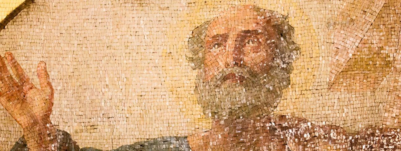 """""""Hoe is het mogelijk dat het christendom dat in de tijd van Paulus zo vernieuwend was, zo behoudsgezind is geworden?"""",  vraagt Reimund Bieringer zich af. © rr"""