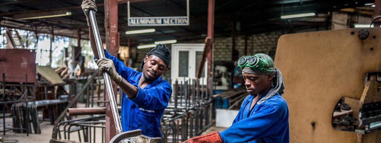 """""""Rwanda scoort hoger dan België in het gemak van zaken doen"""", verrast Frank Foulon. © Exchange"""