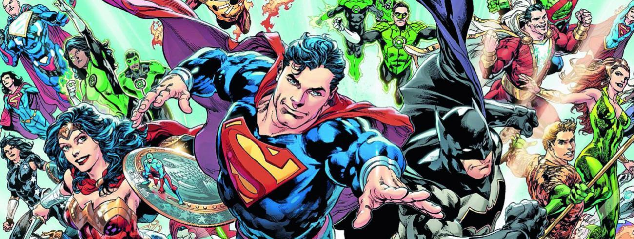 Vanaf de jaren 1960 beleefden superhelden en superheldinnen een comeback.   © rr
