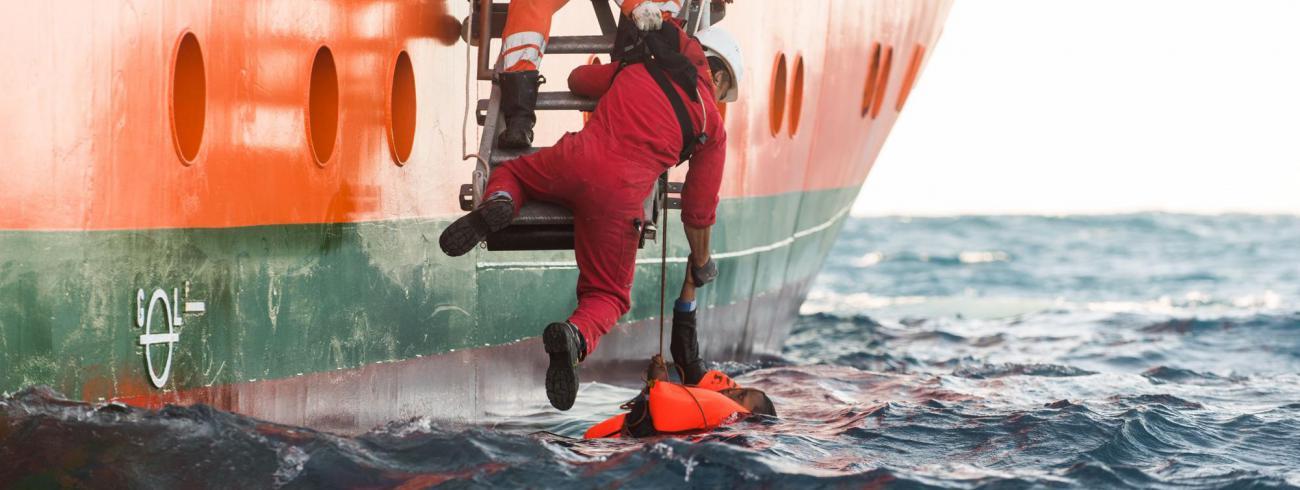 redding op zee © AZG