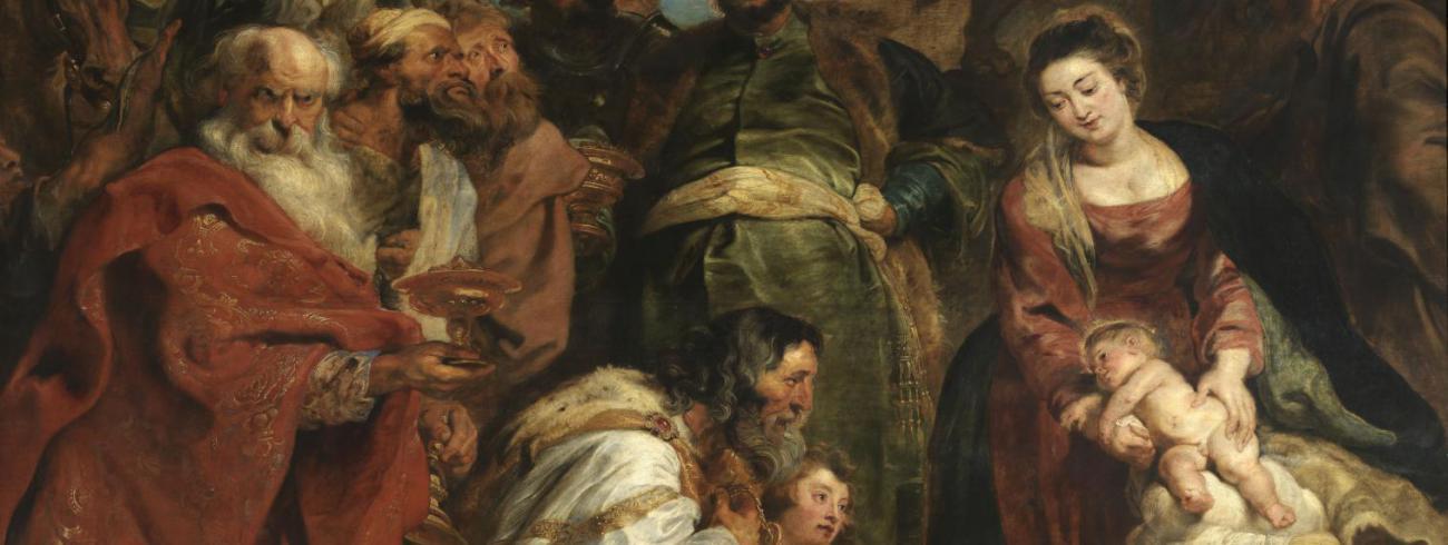 Aanbidding door de koningen, Pieter Paul Rubens, KMSKA