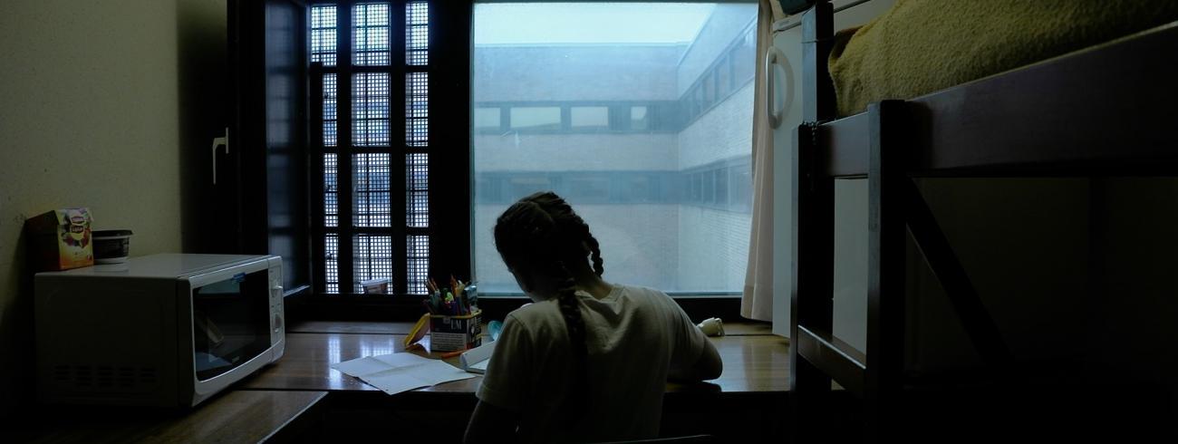 Schermafbeelding uit de film 'LASSUS, de boetepsalmen'. © Griet Teck