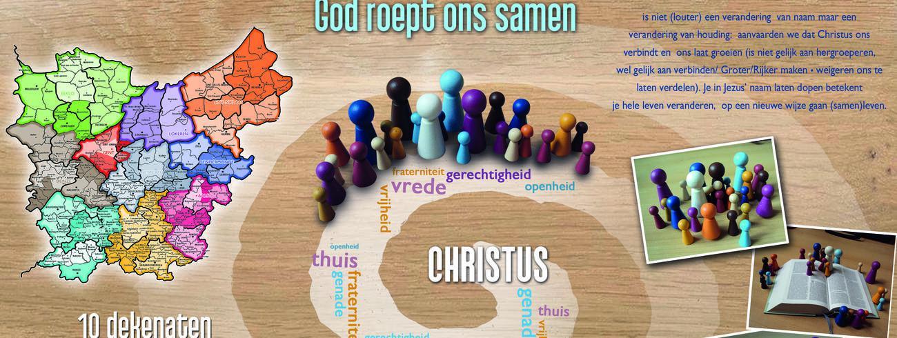 Samen op weg naar nieuwe parochie © © Bisdom Gent