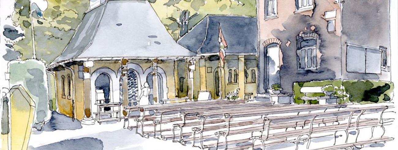 Heiligdom van Banneux © Etienne Legrand/N.D. de Banneux