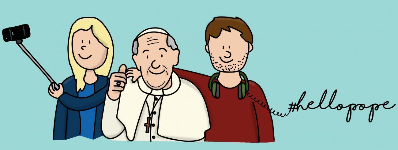 #hellopope #jongerensynode #synod2018