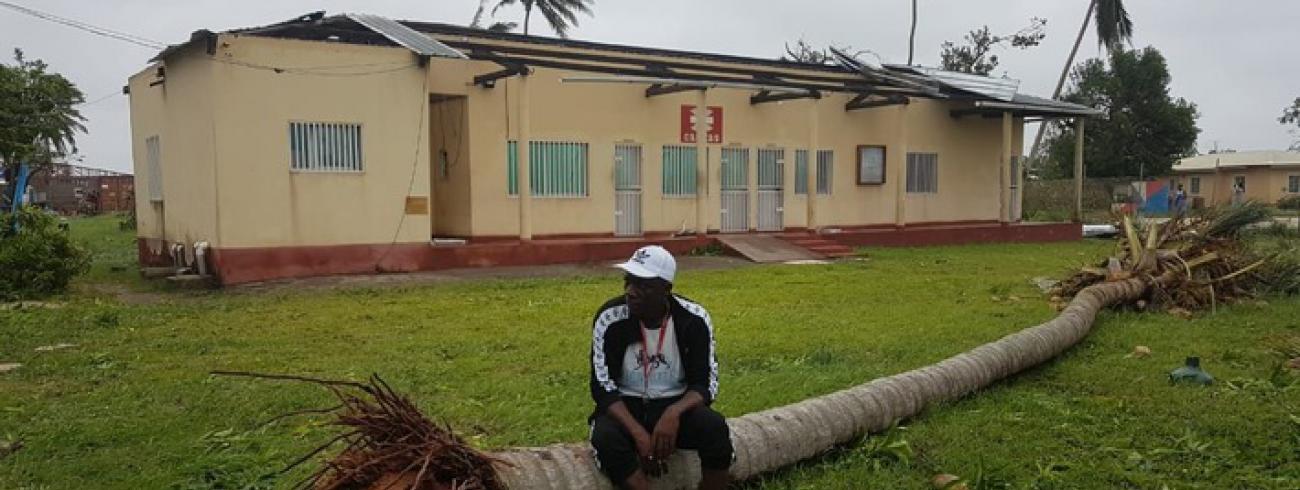 Caritascentrum in Mozambique © Caritas International