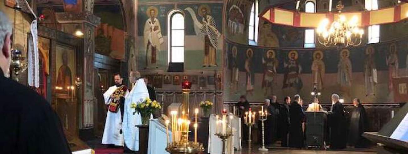 De vigilie van de Transfiguratie in Chevetogne © Tommy Scholtes/IPID