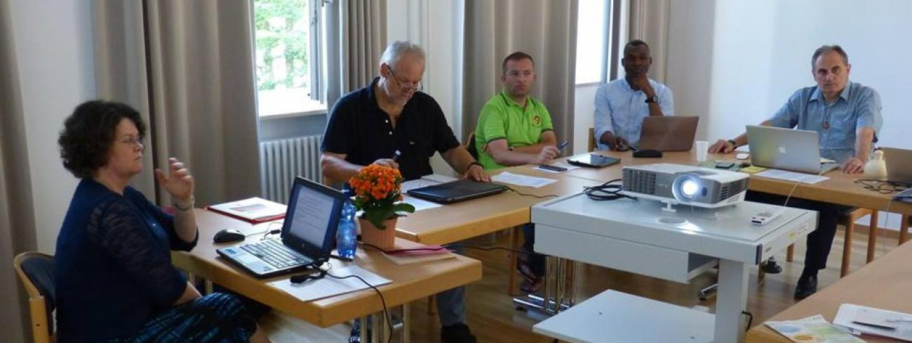 Voorbereidingscommissie voor Generaal Kapittel © Salvatorianen
