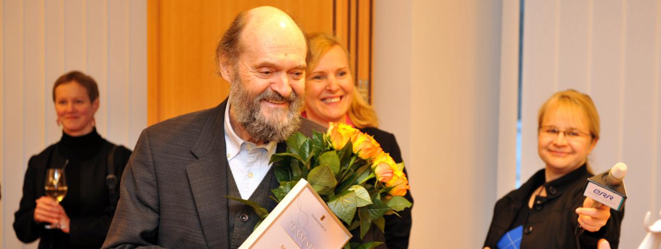 De Estse componist Arvo Pärt © Wikimedia/Este Ministerie van Buitenlandse zaken