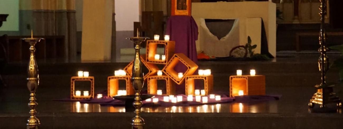 Het inspiratiemoment toont hoe Taizé liederen nieuwe muzikaal-liturgische dimensies kan openen. © Bisdom Hasselt